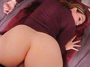 Ung tysk kvinna anal